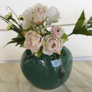 Cooper Mays NC Small Green Pottery Vase